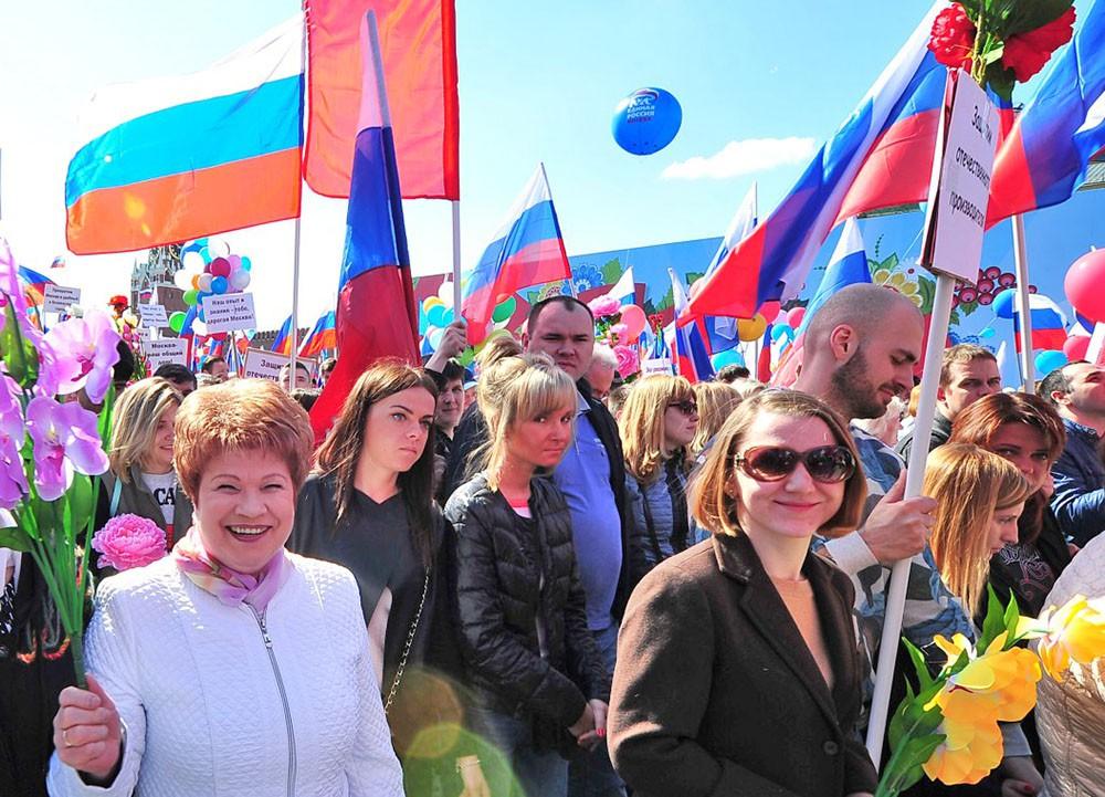 Праздник на Красной площади