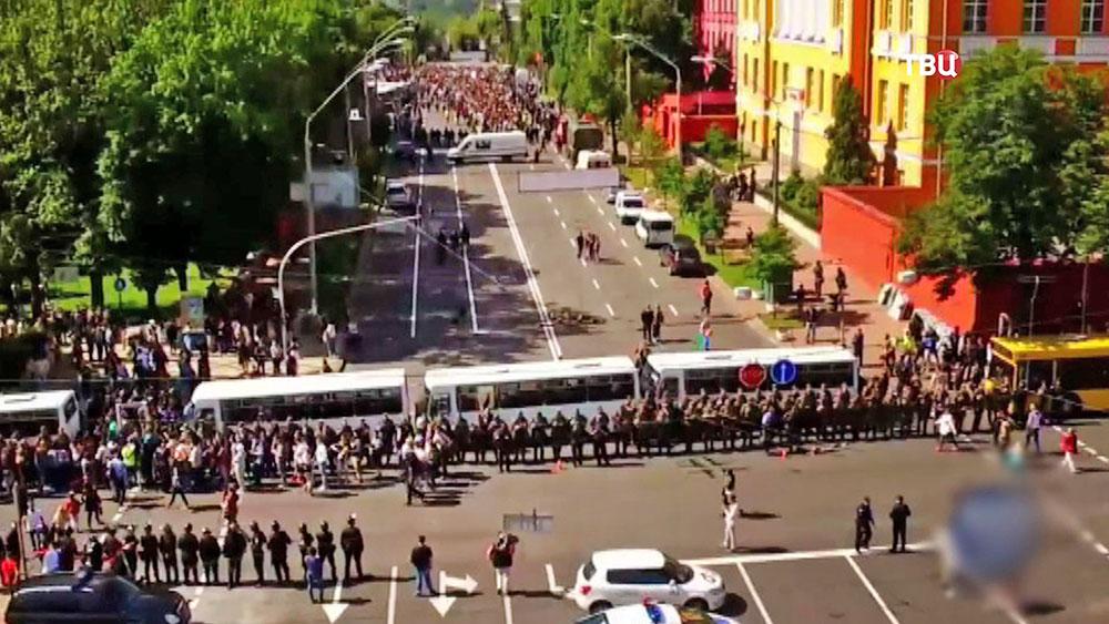 Полиция Украины оцепила место проведения гей-парада
