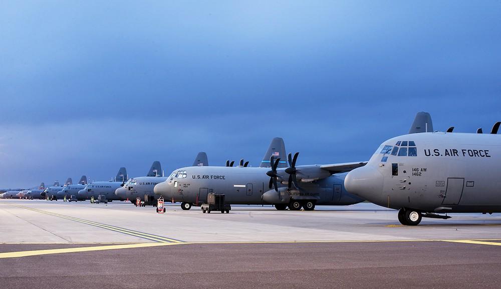 Военный аэродром ВВС США