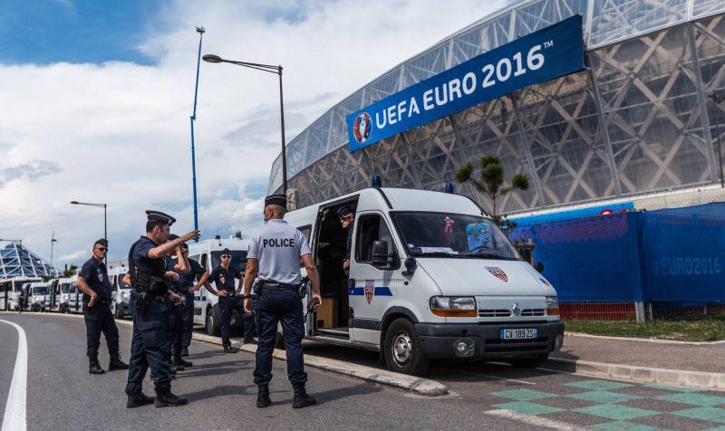 Полиция на Евро-2016