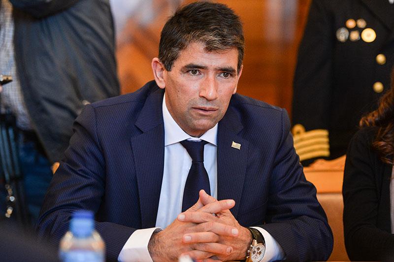 Вице-президент, председатель Генеральной Ассамблеи и Сената Уругвая Рауль Сендик
