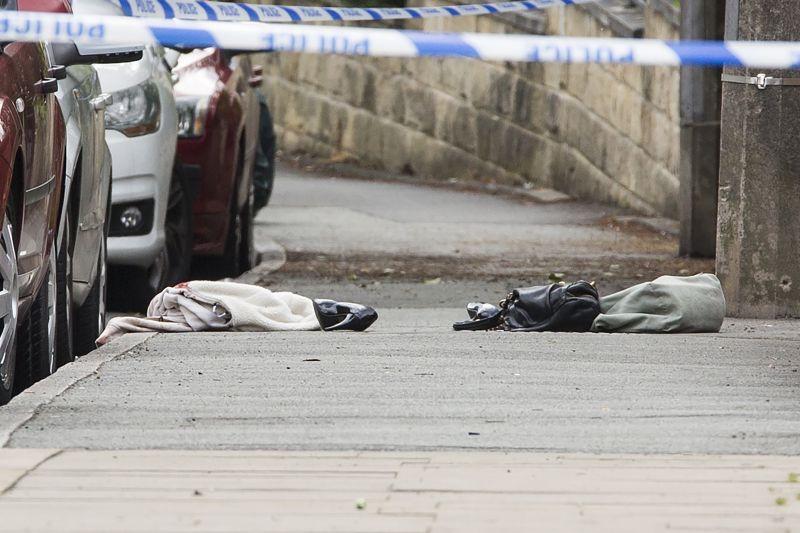 Место убийства депутата Джо Кокс в Британии