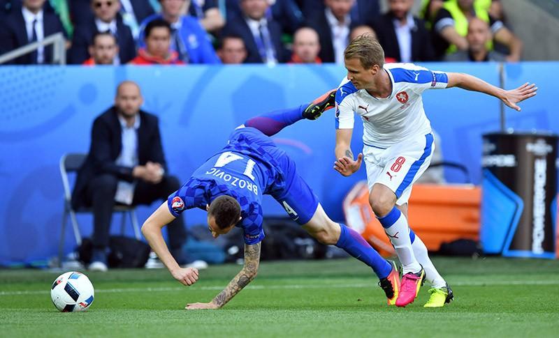 Чемпионат Европы по футболу - 2016. Матч Чехия - Хорватия