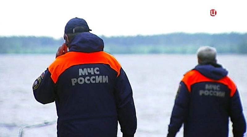 Поисковая операция МЧС России
