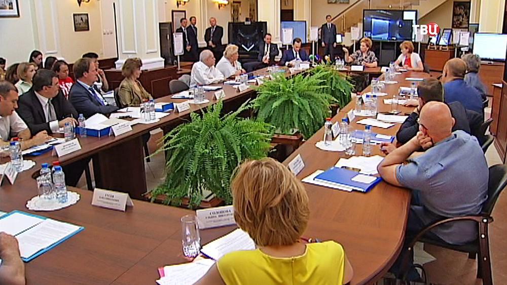 Пресс-конференция в Мосгорсуде