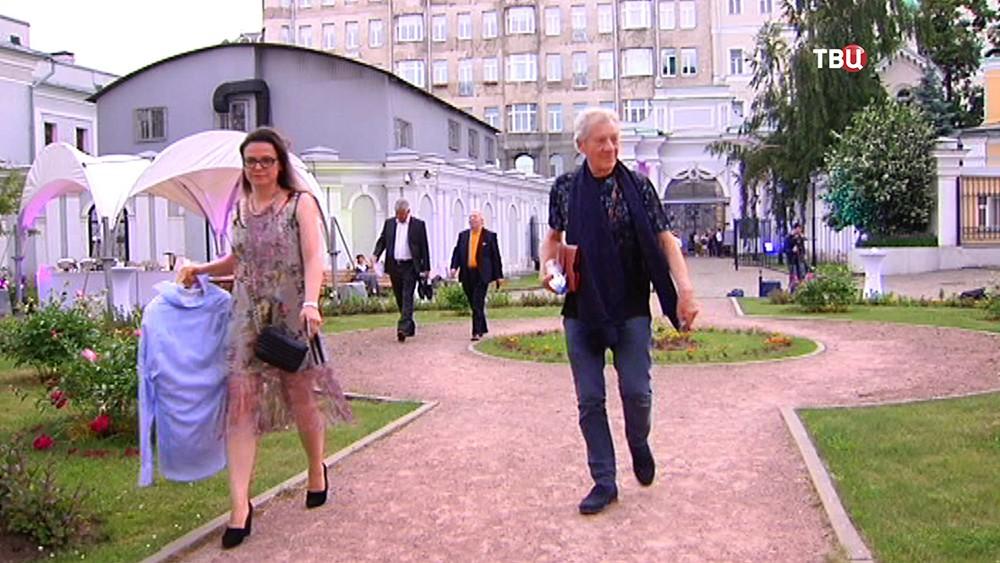 Иэн Маккеллен в Москве