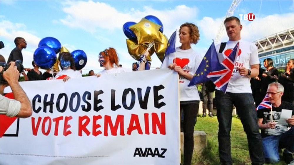 Британцы в преддверии референдума по отделению от Евросоюза