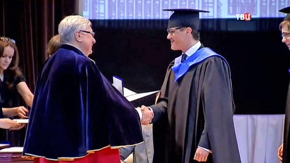 Вручение дипломов выпускникам МГИМО