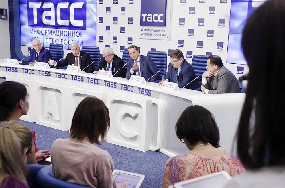 Пресс-конференции по итогам работы Госудумы