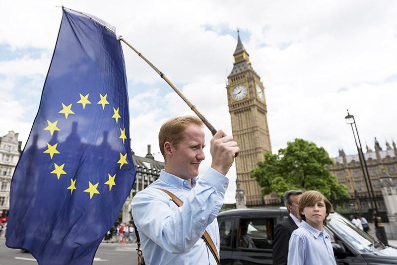 Противники отделения Великобритании ои Евросоюза