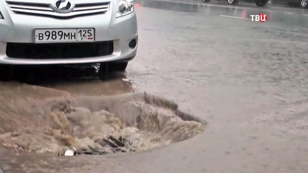 Наводнение во Владивостоке