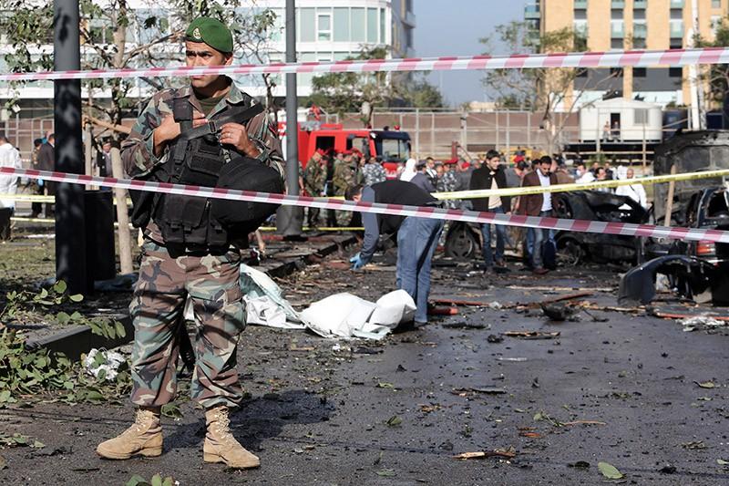 На месте теракта в Ливане