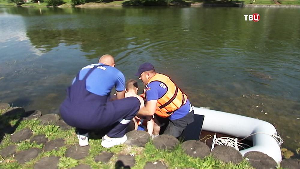 Мастер-класс МЧС по безопасности на воде