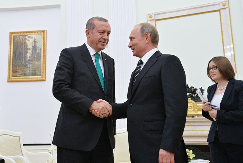 Владимир Путин и Реджеп Эрдоган намерены восстановить сотрудничество РФ и Турции