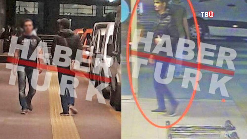 Террорист в аэропорту Стамбула