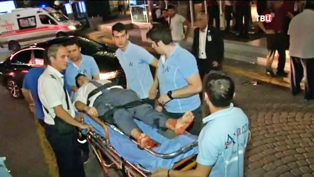Пострадавший от взрыва в Турции