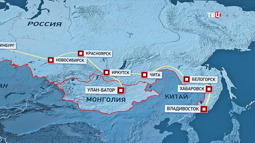 Автобусный тур из Франции до Владивостока