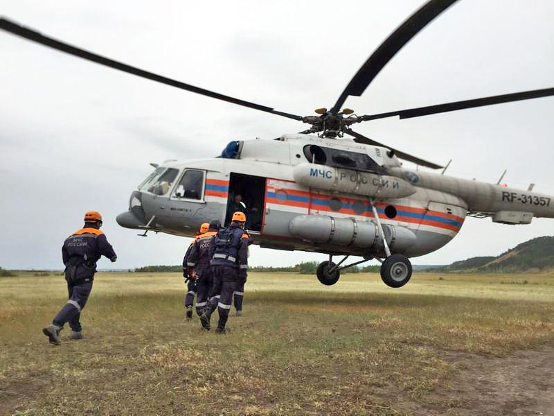 Поисково-спасательная операция МЧС