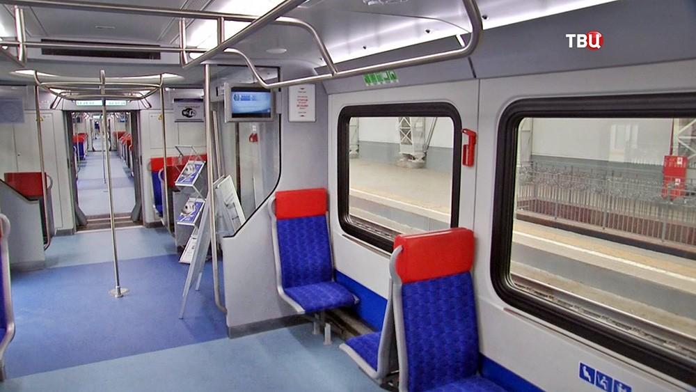 Поезд для МКЖД