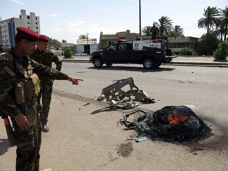 На месте взрыва в Ираке