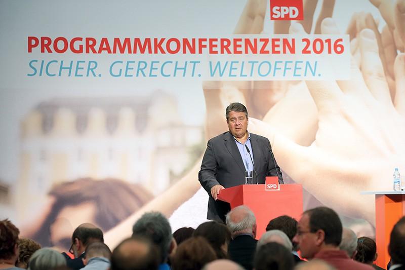 Вице-канцлер Германии Зигмар Габриэль