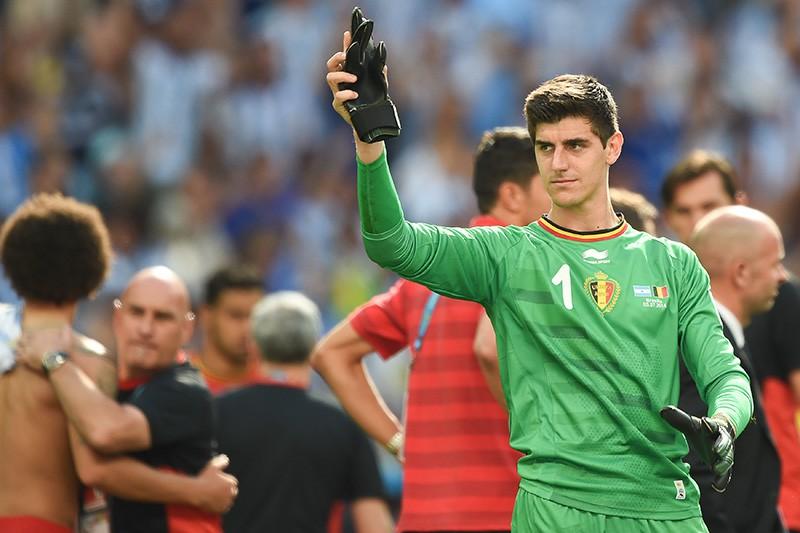 Вратарь сборной Бельгии Тибо Куртуа