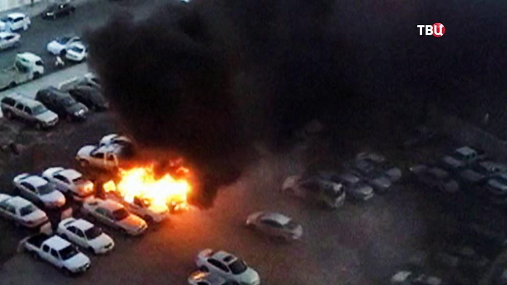 Последствия взрыва в Саудовской Аравии