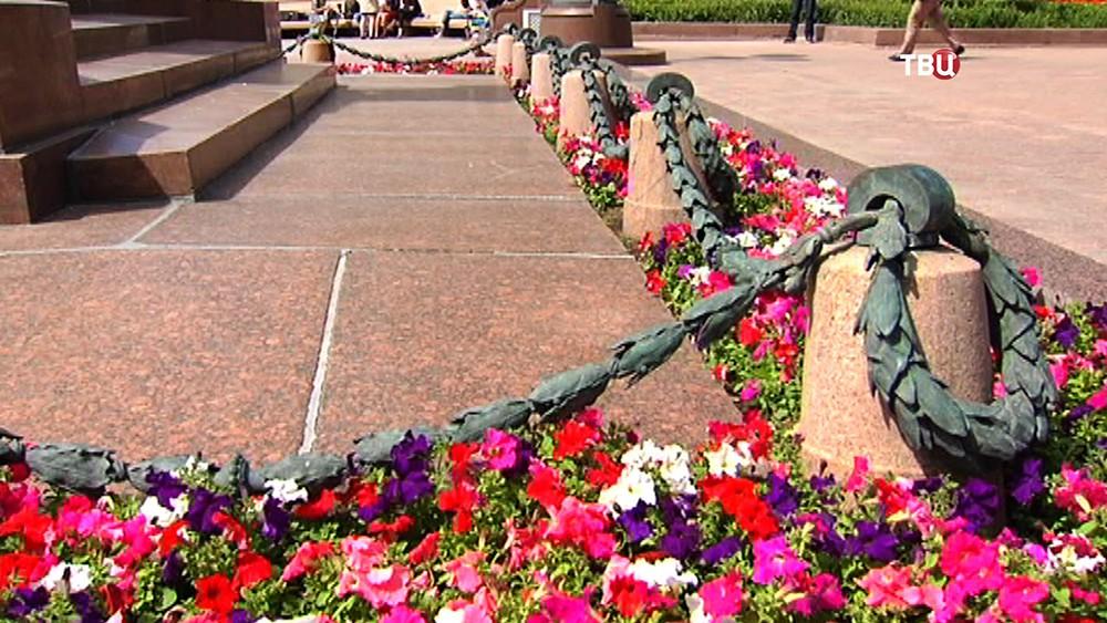 Ограда памятника А. С. Пушкину