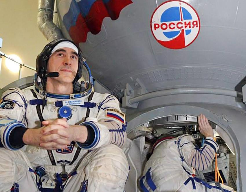 Космонавт Роскосмоса Анатолий Иванишин