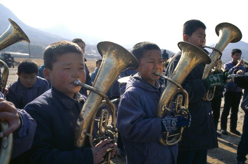 Музыканты в КНДР