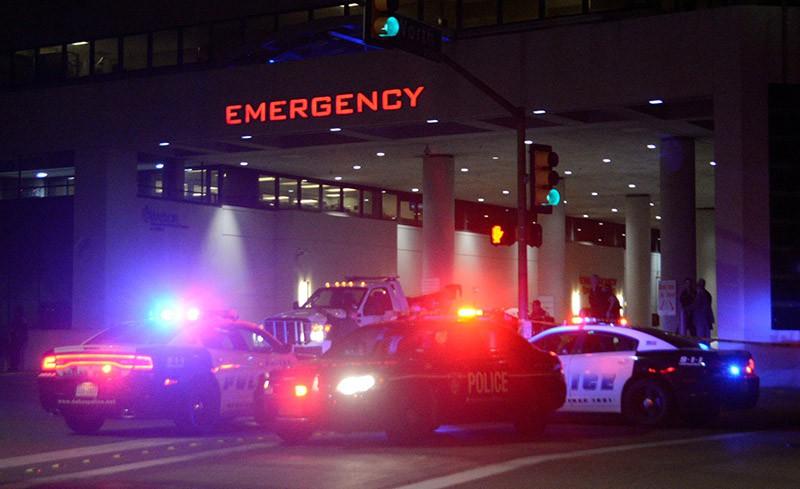 Беспорядки в Далласе, Техас США