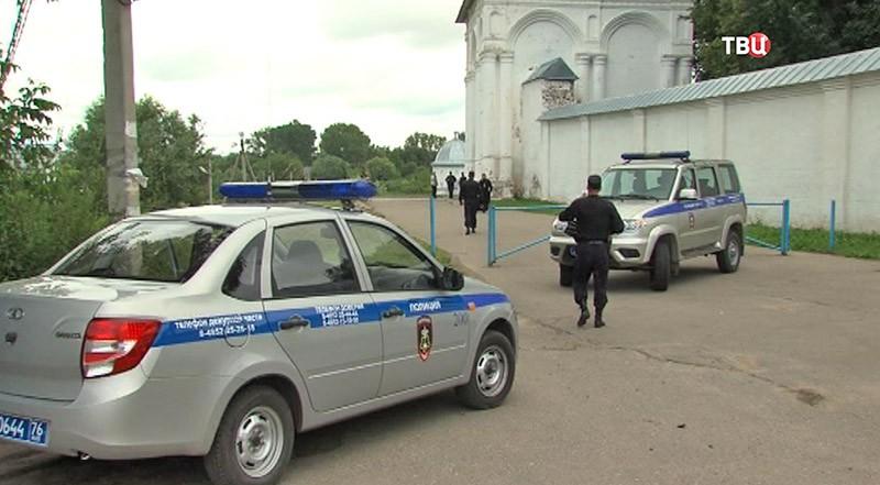Место убийства настоятеля Свято-Троицкого Данилова монастыря