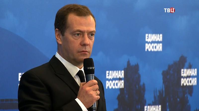 """Дмитрий Медведев на выставке """"Иннопром"""""""