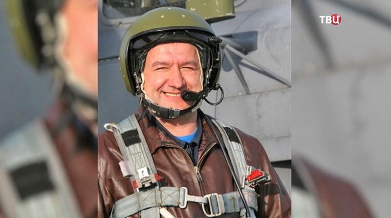 Летчик Ряфагать Хабибуллин
