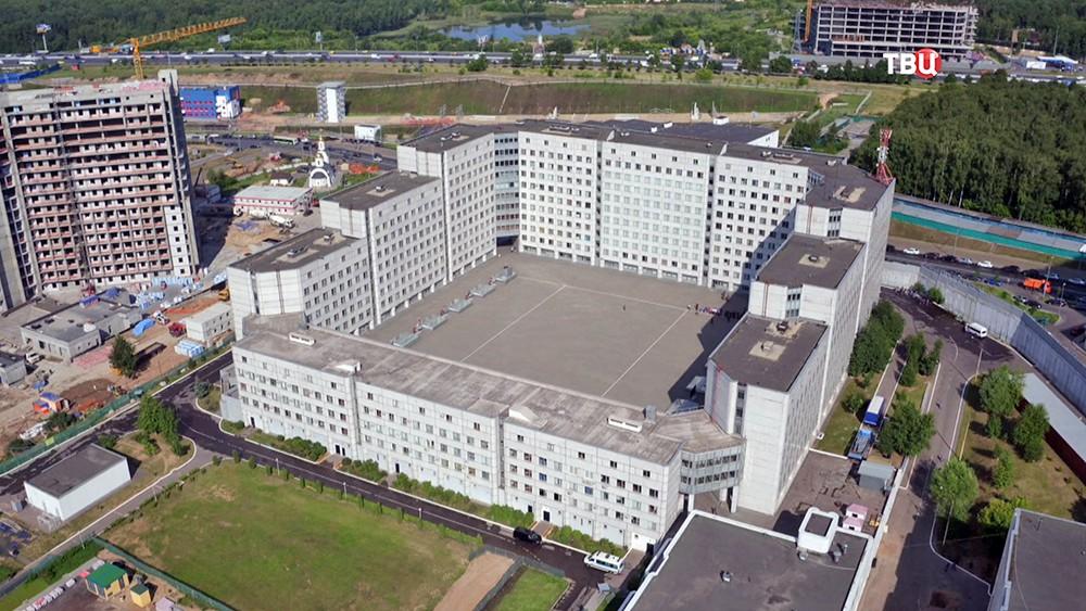 Строительство базы для войск Росгвардии