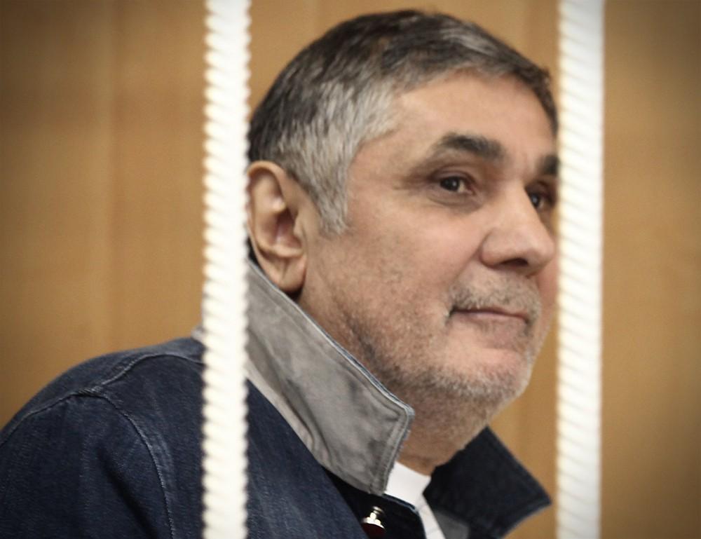 """""""Вор в законе"""" Захарий Калашов (Шакро Молодой) в суде"""