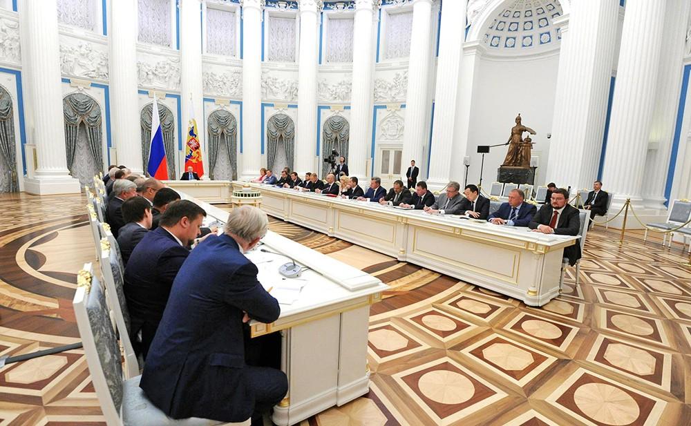 Заседание Совета по стратегическому развитию