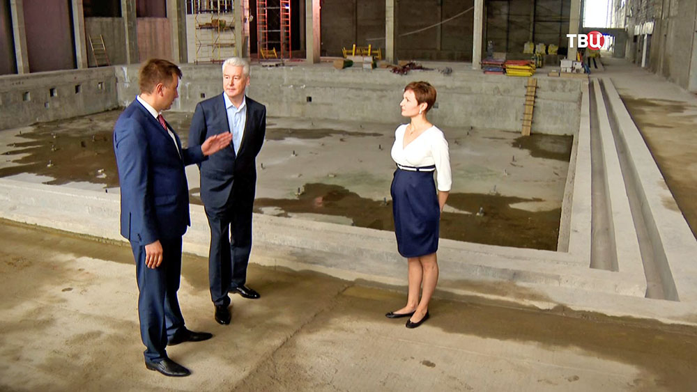 Сергей Собянин осмотрел ход строительных работ на территории промзоны ЗИЛ