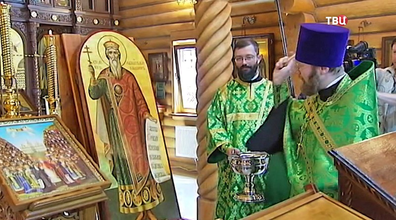 Деревянный собор в честь Преподобных отцов Киево-Печерских