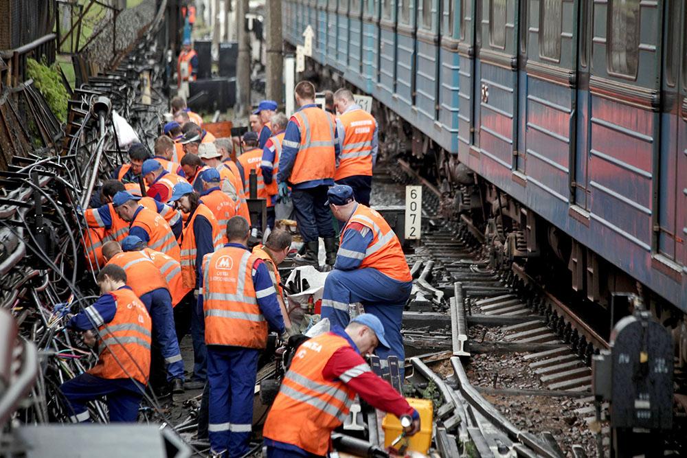 Ремонтно-восстановительные работы в метро