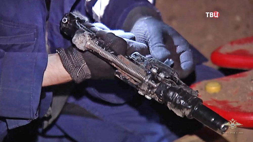 Оружие в руках криминалиста