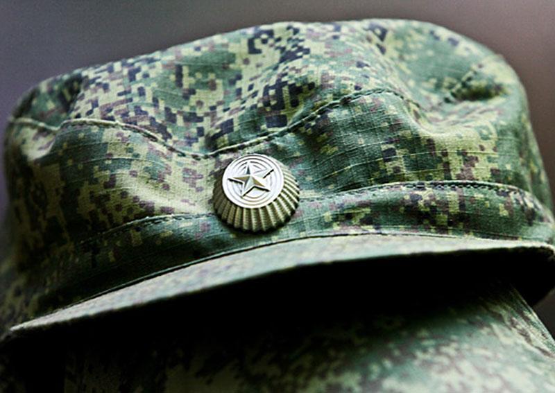 Фуражка военнослужащего армии России