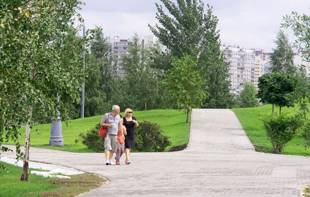 Благоустроенный парк