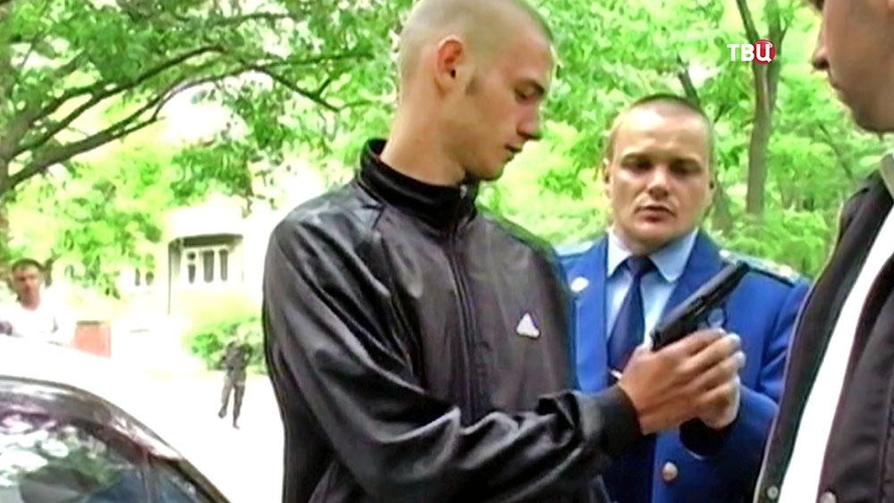 """Участник банды """"приморских партизан"""" на очной ставке"""