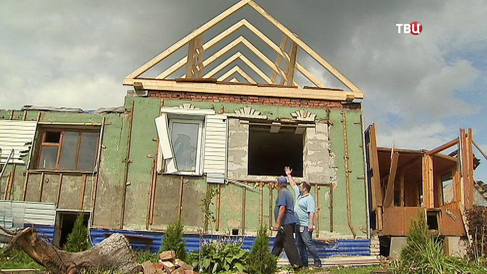 Устранения последствий урагана