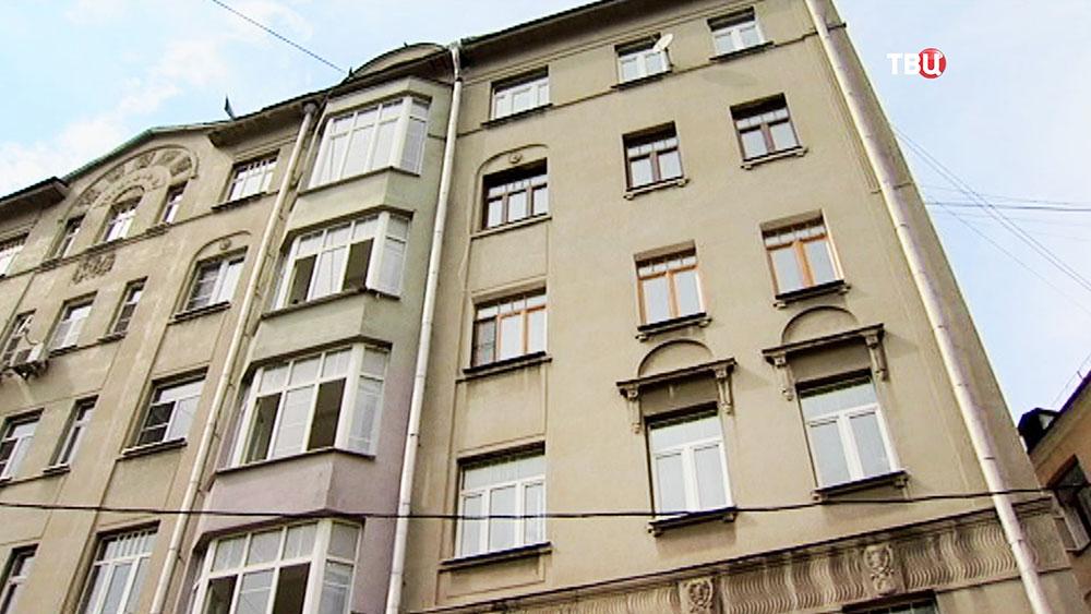 Дом в центре Москвы