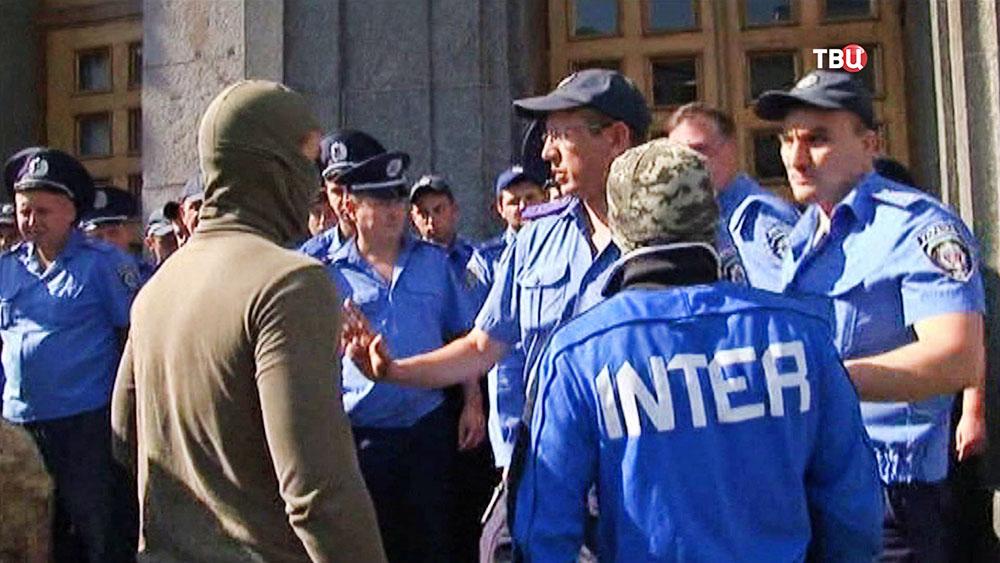 Украинские радикалы и полиция