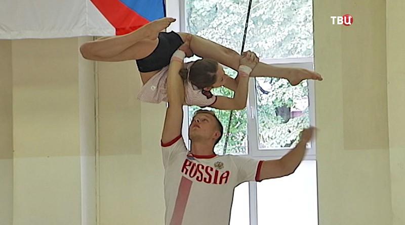 Гимнасты