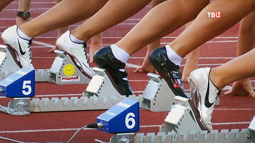 Легкая атлетика. Бег