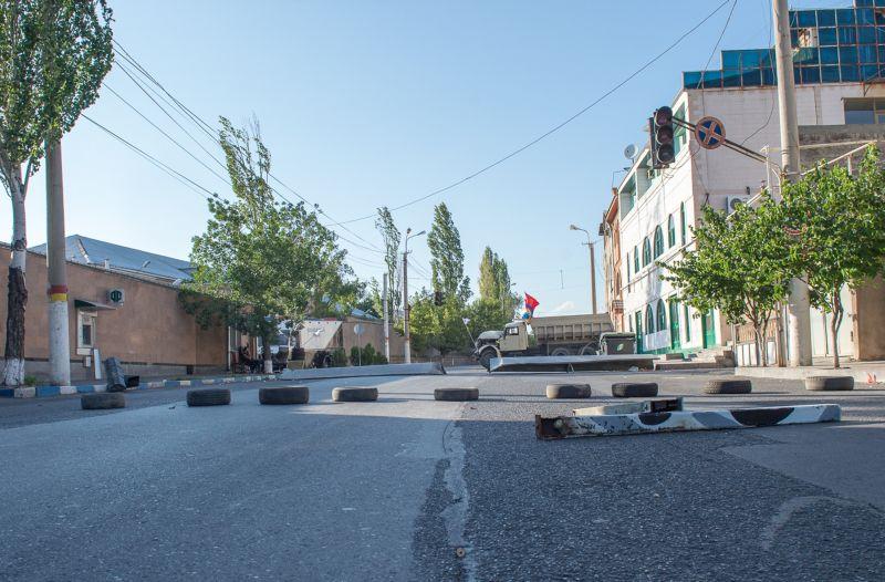 Захваченная в Ереване территория ППС